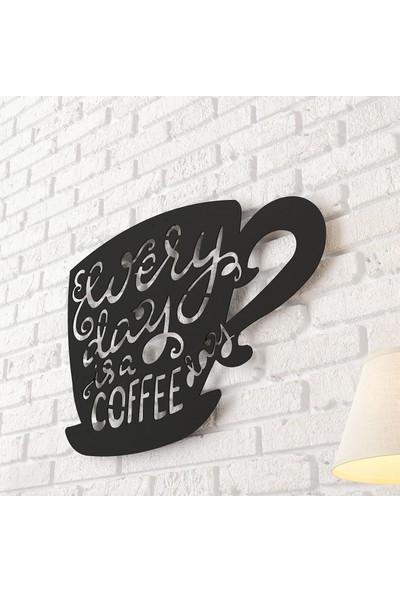 Dekomotif Coffe Mug Metal Tablo Ev/ofis Dekorasyonu