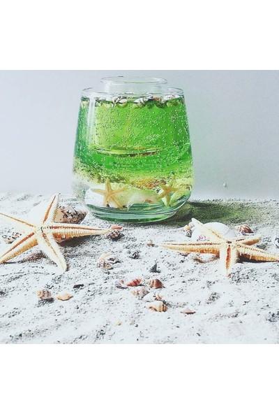 Ufak Dokunuşlar Jel Mum Okyanus Yeşili