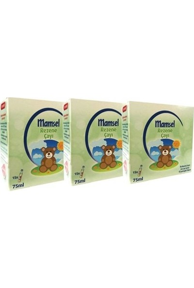 Mamsel Rezene Monodoz Çayı 15 x 5ml 3 Adet