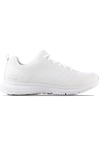 Lotto T0733 Madu Beyaz Erkek Yürüyüş Ve Spor Ayakkab Beyaz