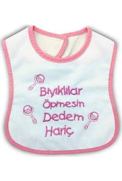 By Leyal For Kids Kız Bebek Bıyıklılar Öpmesin Yakalık