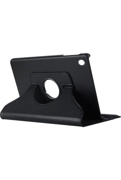 Microsonic Samsung Galaxy Tab A 10.1'' T510 Kılıf 360 Rotating Stand Deri Siyah