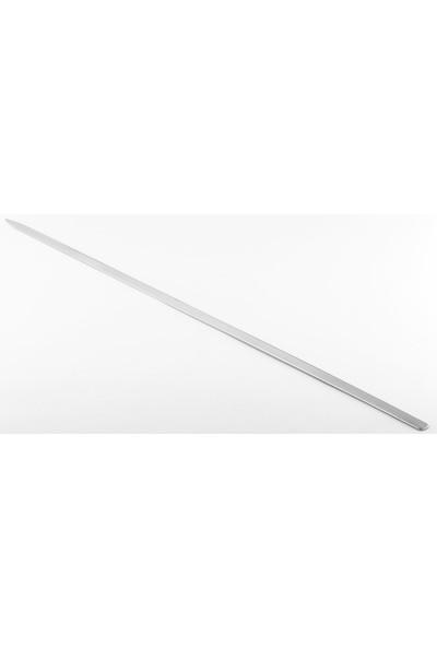 Gönen Çeli̇k Paslanmaz Çeli̇k Şi̇ş 2 x 60 cm Boy Adana Kıyma