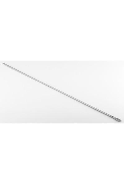 Gönen Çeli̇k Paslanmaz Çeli̇k Şi̇ş 4 mm x 60 cm Boy Kuşbaşı