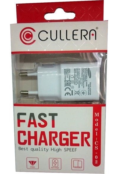 Cullera Fast Charger - Hızlı Şarj Aleti