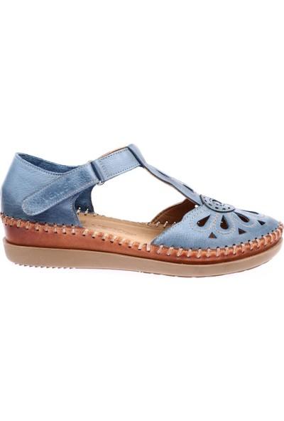 Venüs 18793505 Kadın Sandalet Ayakkabı Açık Mavi
