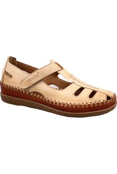 Venüs 19793509 Kadın Sandalet Ayakkabı Bej