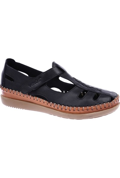 Venüs 19793509 Kadın Sandalet Ayakkabı Siyah