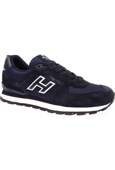 Hammer Jack 102 19250-M Erkek Merdane Ayakkabı Lacivert Beyaz