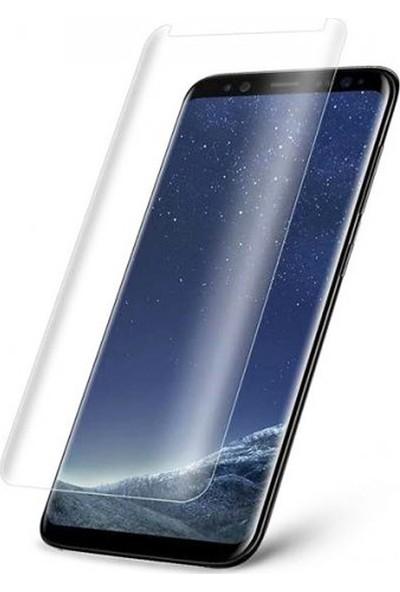 Twinix Samsung Galaxy Note 8 Uv Işınlı Ekran Koruyucu Tam Yapışan Cam