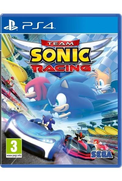 Sega Team Sonic Racing PS4 Oyun