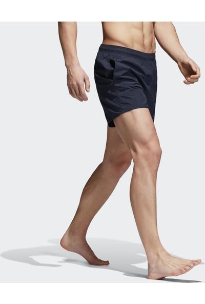 Adidas Lacivert Erkek Mayo Şort Cv7112 Solid Sh Sl