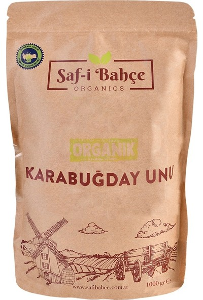 Saf-İ Bahçe Organi̇k Karabuğday Unu 1 kg