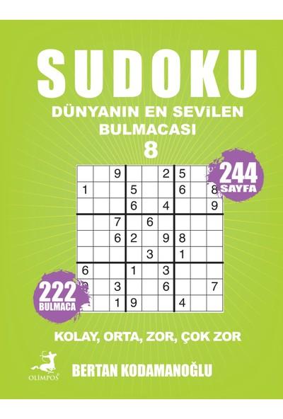 Sudoku 8 Kolay Orta Zor Çok Zor - Bertan Kodamanoğlu