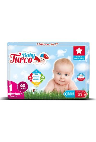 Baby Turco Bebek Bezi 1 Beden Yenidoğan 300' lü 2 - 5 kg