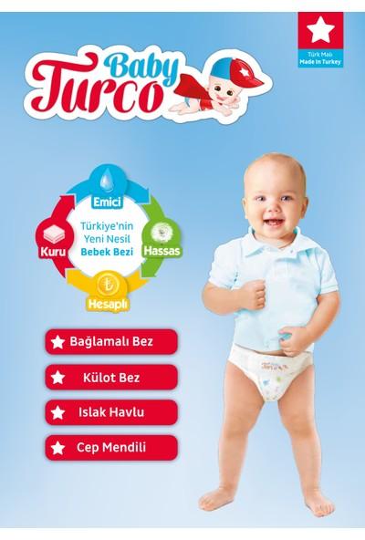 Baby Turco Bebek Bezi 4+ Beden Maxi Plus 190' lı 10- 15 kg