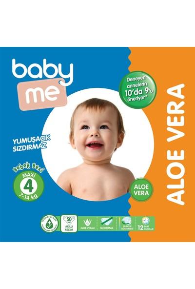 Baby&Me Aloe Vera Maxi 4 Numara Bebek Bezi 7 - 14 kg 50 Adet