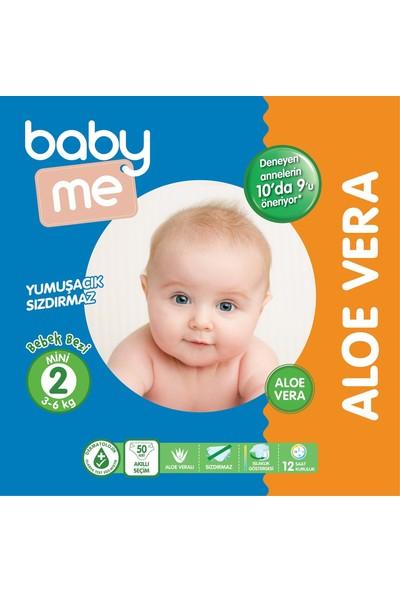 Baby&Me Aloe Vera Mini 2 Numara Bebek Bezi 3 - 6 kg 50 Adet