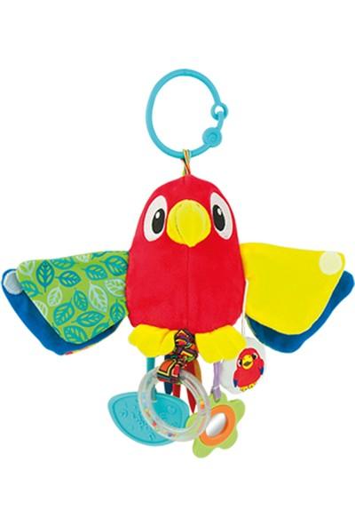 Winfun Peluş Titreşimli Sevimli Papağan