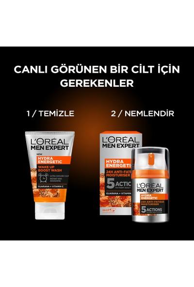 L'Oréal Paris Men Expert Hydra Energetıc Wake Up Boost Yüz Temizleme Jeli 100 Ml