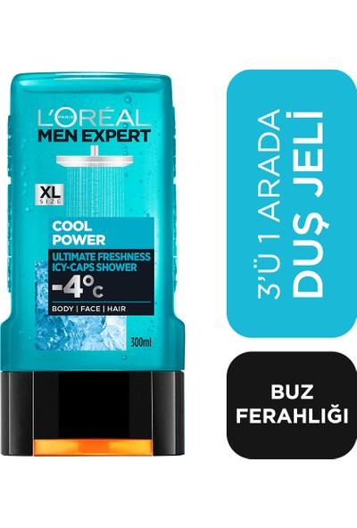 L'Oréal Paris Men Expert Cool Power Buz Ferahlığında Duş Jeli 300 Ml