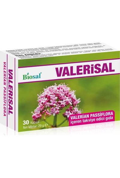 Valerian Passiflora 30 Kapsül Biosal Valerisal