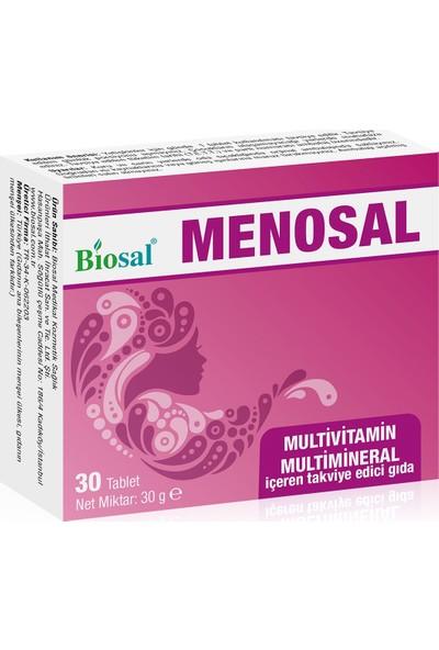 Menopause Multivitamin & Multimineral 30 Kapsül Biosal Menosal