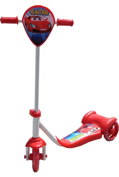 Happy Toys Scooter 3 Tekerli Frenli Silikon Teker