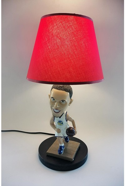 Hediye Fikri Dekoratif Basketbolcu Stephen Curry Tasarımlı Abajur
