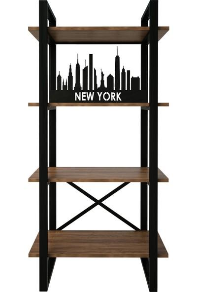 Decorotika Desta Kitaplık Newyork