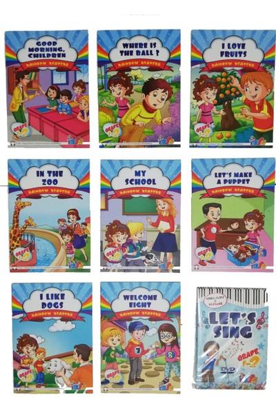 Readers İngilizce Hikaye Kitabı Seti (Grade 1 - 2) İlkokul 2. Sınıf (İngilizce Şarkı Kitabı ve DVD)
