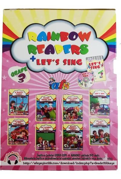 Readers İngilizce Hikaye Kitabı Seti (Grade 3) İlkokul 3. Sınıf (İngilizce Şarkı Kitabı ve DVD)