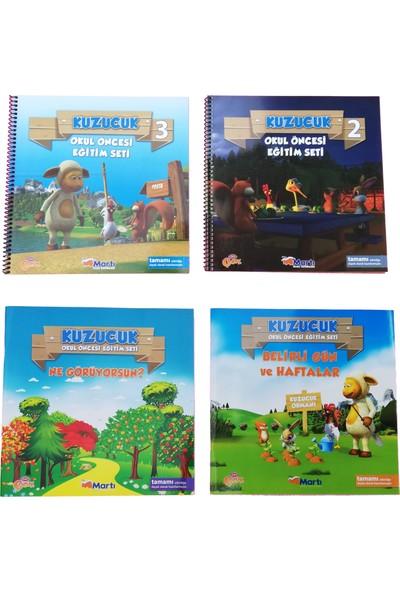 Kuzucuk Okul Öncesi Eğitim Seti 16 Kitap 5 - 6 Yaş