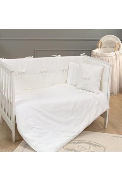 Funna Baby - Premium Baby Beyaz Uyku Seti 70X130 cm / kod: 5302