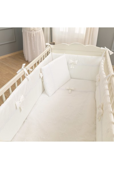 Funna Baby - Premium Baby Beyaz Uyku Seti 60x120 cm / kod: 5311