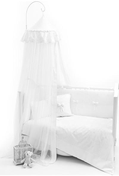 Funna Baby - Premium Baby Beyaz Romantika Cibinlik Tülü 8 Metre / kod: 5334