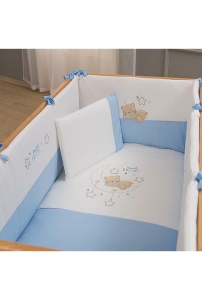 Lolybon - Dreams Uyku Seti 80 x 140 cm 6 Parça Mavi (FunnaBaby) / kod: 9442
