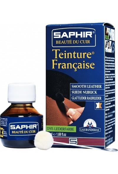 Saphir Kapatıcı Renk Değiştirici Likit Deri Boyası 50 ml - Bordo 08