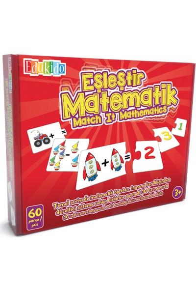 Edukido Eğitici Oyuncak Eşleştir Mukavva Puzzle Matematik EDU-1004