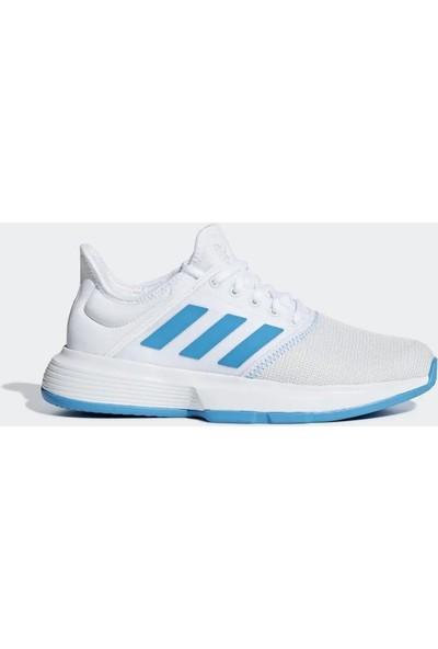 Adidas Cg6367 Gamecourt Kadın Beyaz Tenis Ayakkabısı