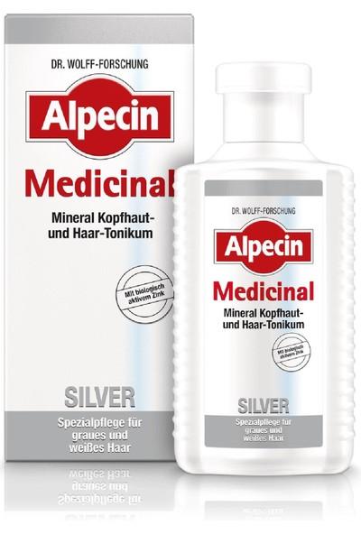 Alpecin Medicinal Silver Tıbbi Gümüş Tonik 200 ml