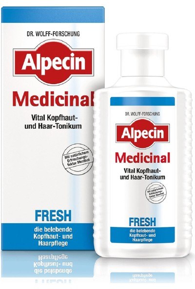 Alpecin Medicinal Fresh Canlandırıcı Tonik, 200 ml