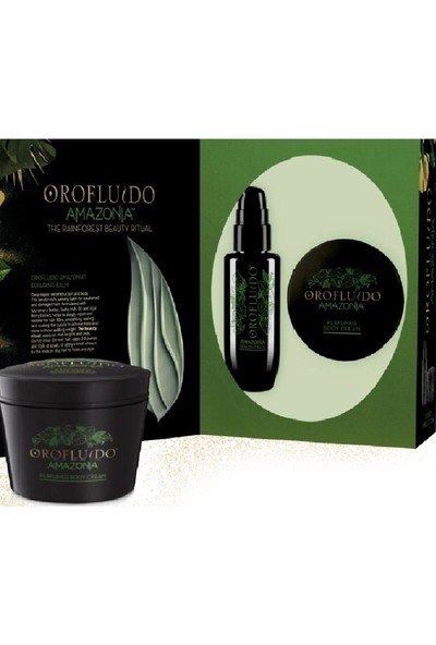 Orofluido Amazonia Onarım Balsamı 100 ml + Vücut kremi 175g
