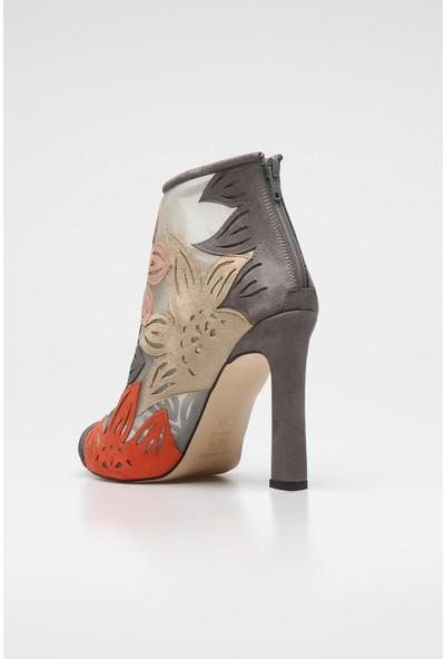 Rovigo Plus Kadın Gri Ayakkabı