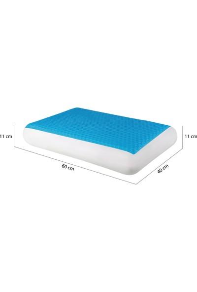 Visco Foam Lüks Serinleten Jelli Visco Yastık