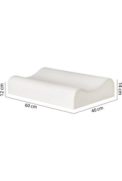 Visco Foam Aloevera Boyun Destekli Yastık Visco Yastık