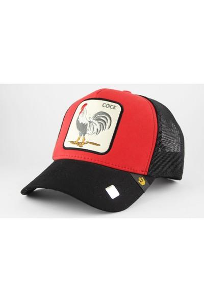 Goorin Horoz Desenli Şapka