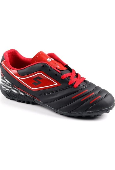 Traygır 102 Siyah Halısaha Erkek Futbol Spor Ayakkabı