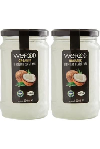 Wefood Organik Hindistan Cevizi Yağı 300 ml - 2'li