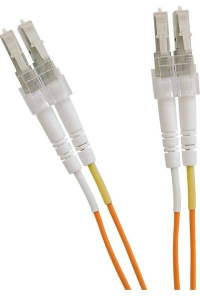 Excel 200-168 Enbeam Om2 Fibre Optic Patch Lead Lc-Lc Multimode 50/125 Duplex LS0H Orange 1 mt